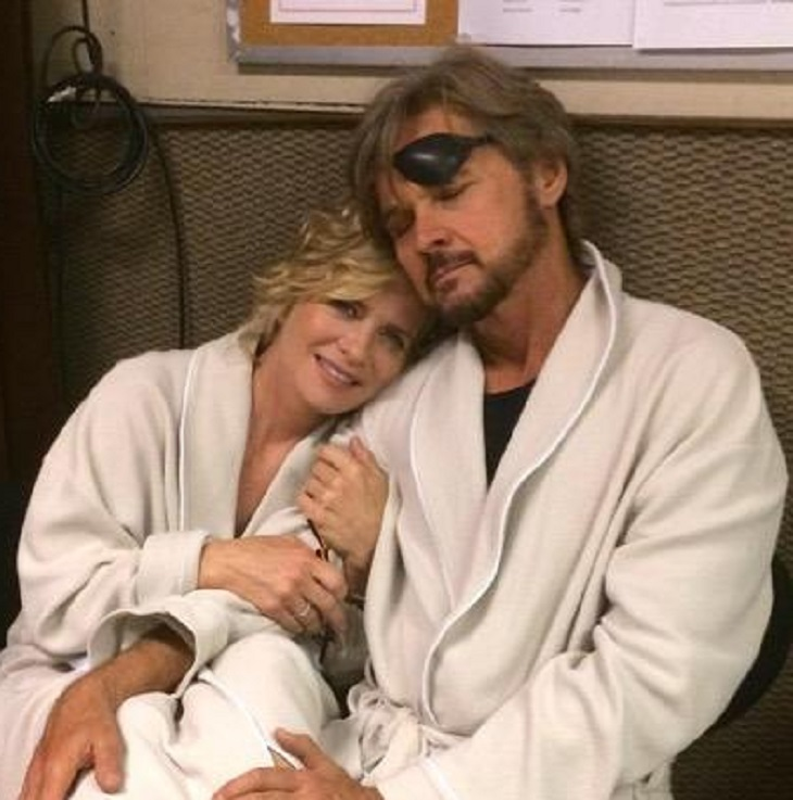 Days Of Our Lives Dool Interview Mary Beth Evans And Stephen Nichols Discuss Kayla And Patch Over The Years And Their First Love Scene