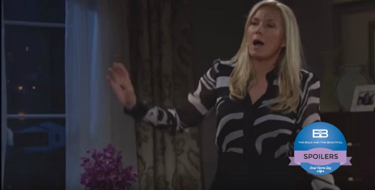 The Bold And The Beautiful Spoilers Friday May 20 Zende Spills Sasha Pregnancy To Nicole Julius Skeptical Katie Freaks Over Brooke S Bedroom Invasion Soap Opera Spy