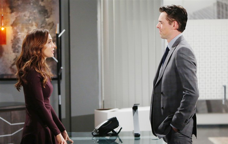 The Young And The Restless: Lily Winters (Christel Khalil), Billy Abbott (Jason Thompson)
